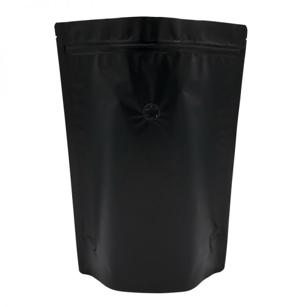 Black Colour Stand Up Pouch