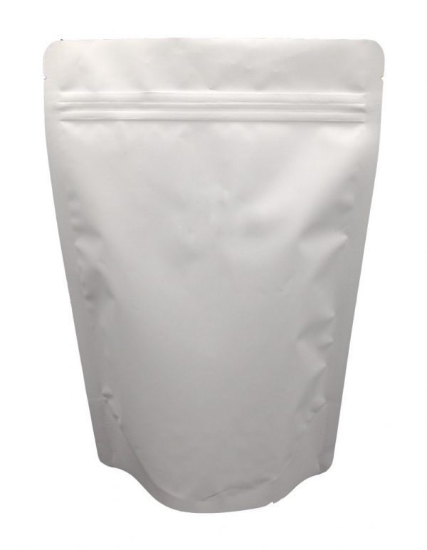 White Colour Stand Up Pouch