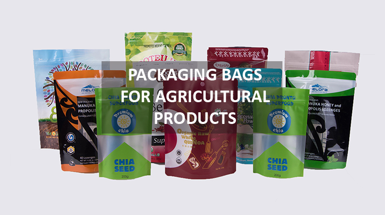 Packaging bags and agricultural products