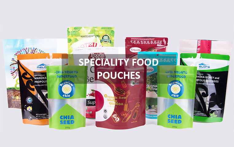speciality food pouches