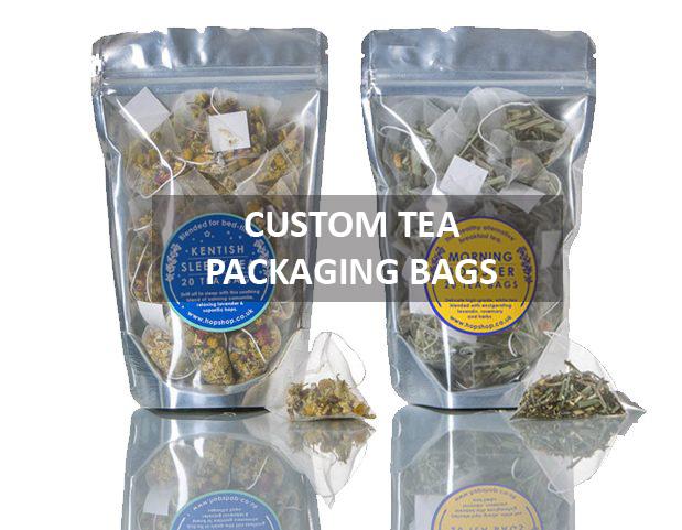 Custom tea packing bags